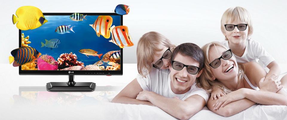 3D мониторы LG купить в Минске