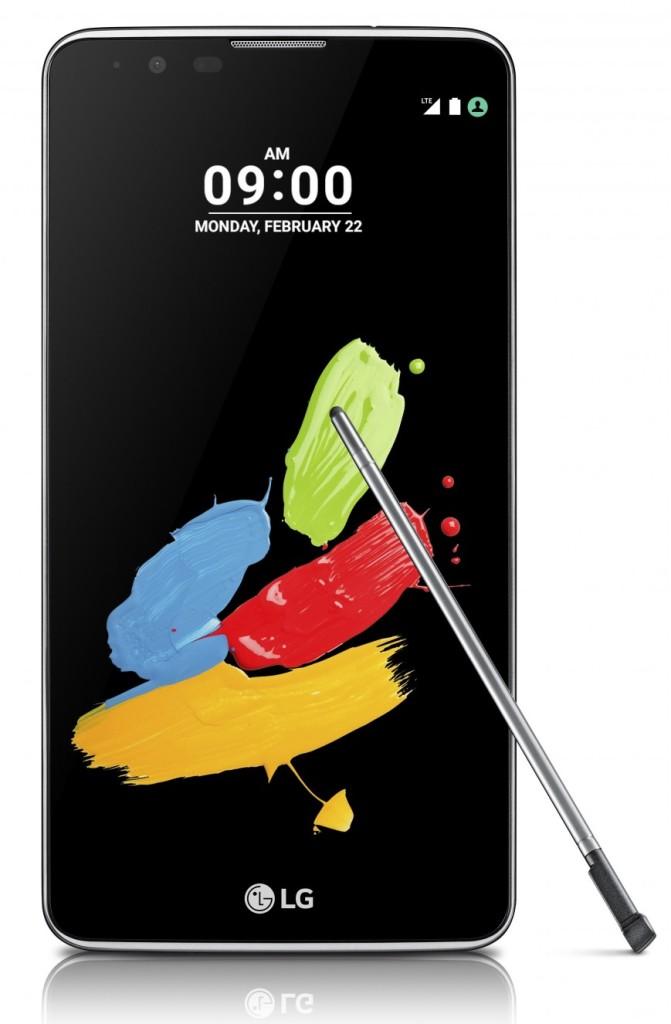 LG анонсировала фаблет Stylus 2 с пером повышенной точности