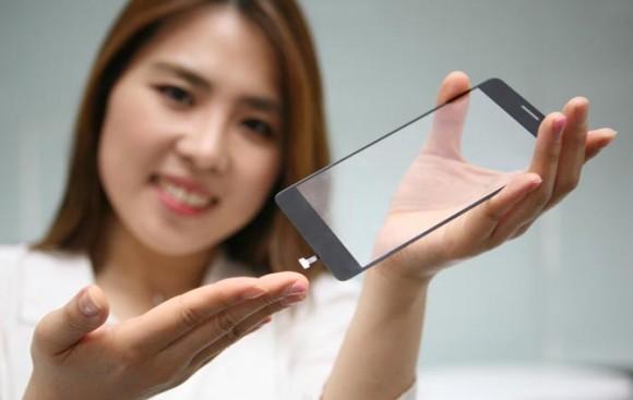 LG спрячет сканер отпечатков пальцев под дисплей смартфона